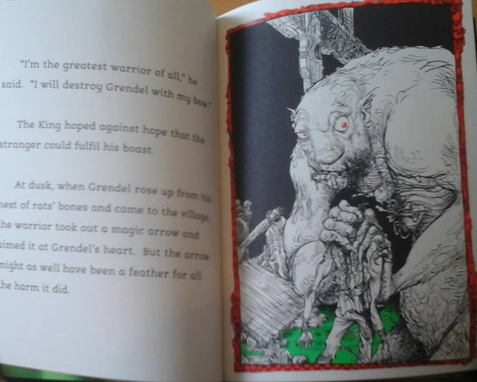 what makes grendel a monster