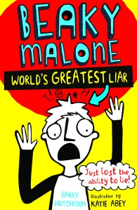Beaky Malone – World's Greatest Liar - Jacket