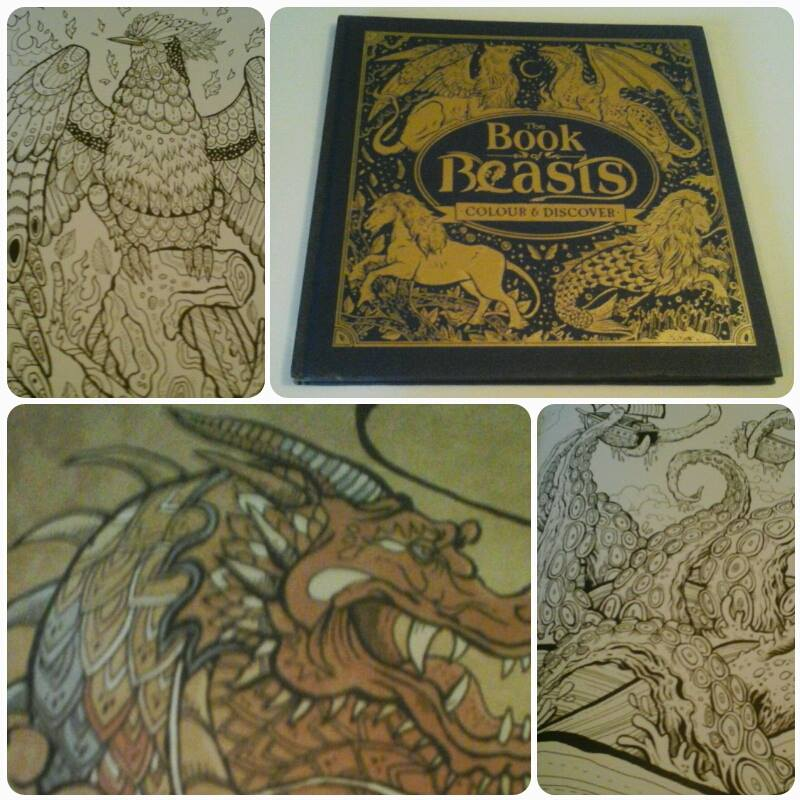 Filled With Hundreds Of Mythical Monsters From Around The World Book Beasts Will Take Readers On An Epic Colouring Quest Through Ancient Lands And